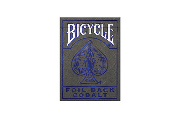 Bicycle MetalLuxe® Cobalt Rider Back (Playing Cards)