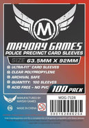 63.5x92mm Mayday Police Precinct Game Sleeves (Standard/Premium)