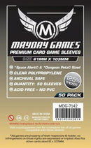 61x103mm Mayday Space Alert Game Sleeves (Standard/Premium)