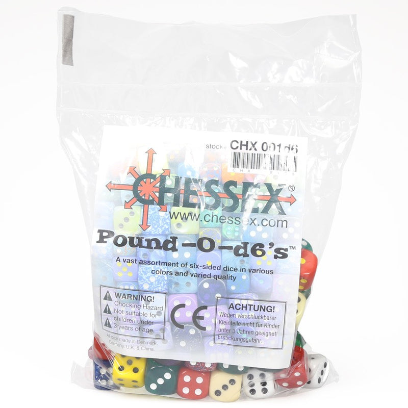 Chessex Bulk Dice Set: Pound of D6