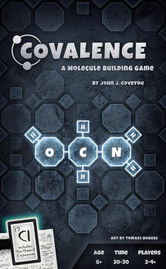 Covalence: Molecule Building Game