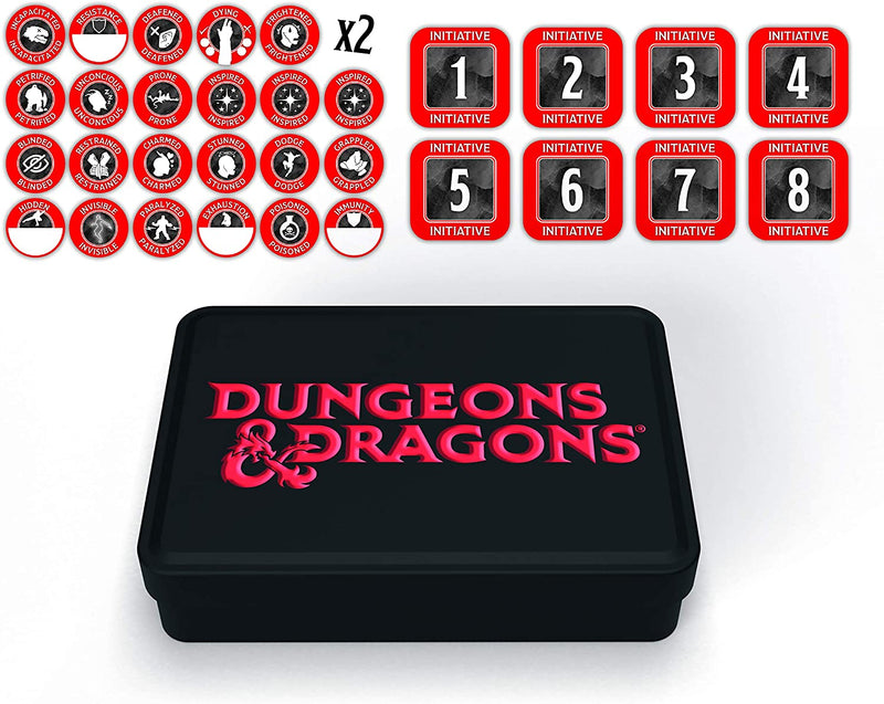 D&D: Dungeon Master Token Set (48 Tokens)