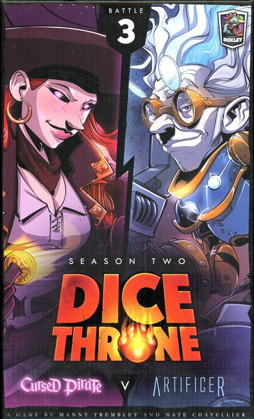 Dice Throne Season 2: Cursed Pirate vs Artificer Expansion