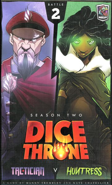 Dice Throne Season 2: Tactician vs Huntress Expansion
