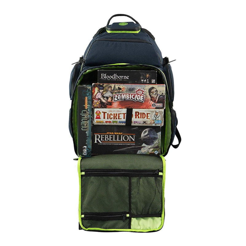 Geek On: The Ultimate Boardgame Backpack (Green)