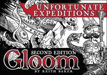 Gloom: Unfortunate Expeditions Expansion 2nd Ed.
