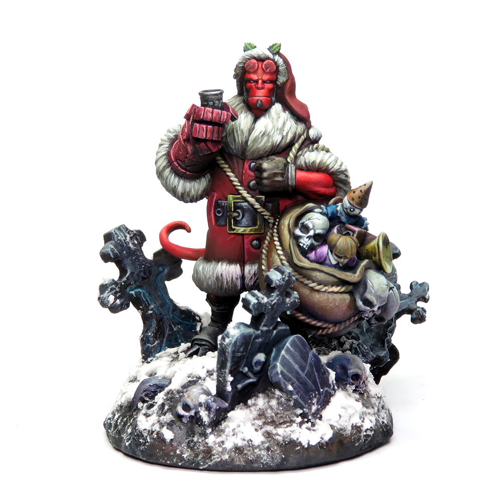 Hellboy Santa Miniature (Limited Edition with Certificate)