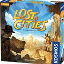 The Lost Cities: The Card Game (with 6th Expedition Expansion)