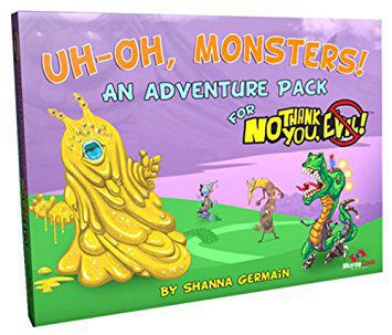 No Thank You Evil!: Uh-Oh Monsters! Expansion