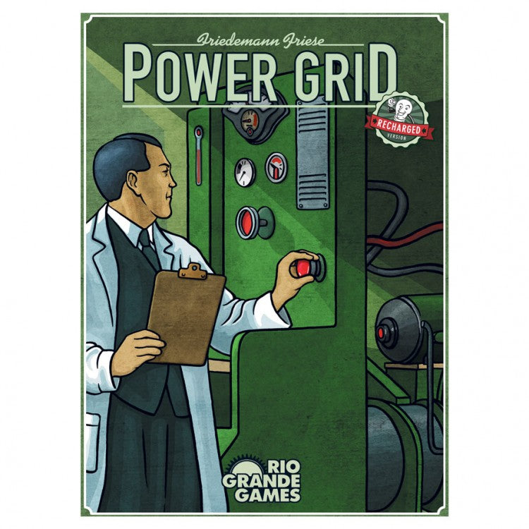 Power Grid: Recharged Edition (15th Year Anniv) *minor box damage