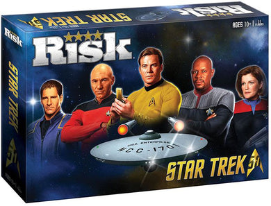 Risk Star Trek 50th Anniversary Ed