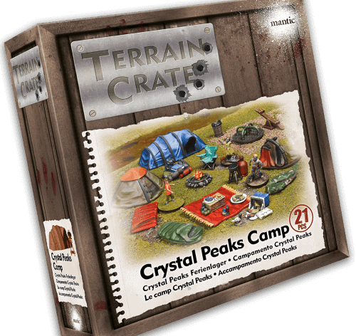 Terrain Crate: Crystal Peaks Camp Miniatures