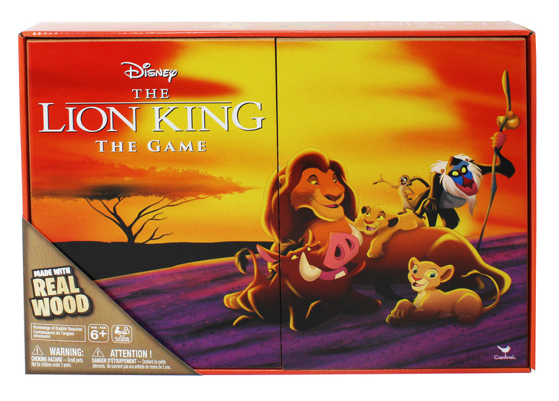 Disney Lion King Board Game - Deluxe Wooden Edition