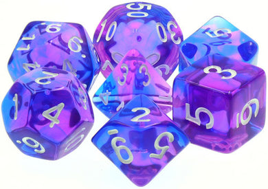 TMG Supply Dargon's Dice: 16mm Poetic Doom 7-set