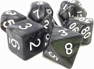 TMG Supply Dargon's Dice: 16mm Shadow Strike 7-set