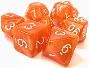 TMG Supply Dargon's Dice: 16mm Sandman Sunrise 7-set