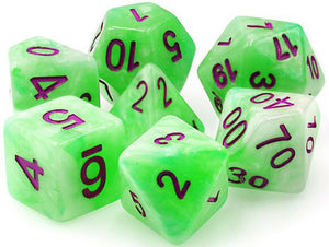 TMG Supply Dargon's Dice: 16mm Sylvan Glade 7-set