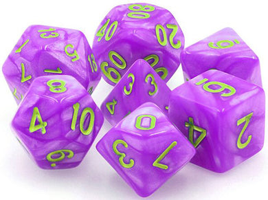 TMG Supply Dargon's Dice: 16mm Mana Miasma 7-set