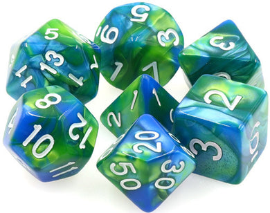 TMG Supply Dargon's Dice: 16mm Siren's Call 7-set