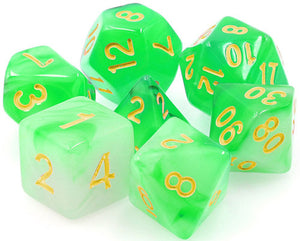 TMG Supply Dargon's Dice: 16mm Eldritch Glaze 7-set