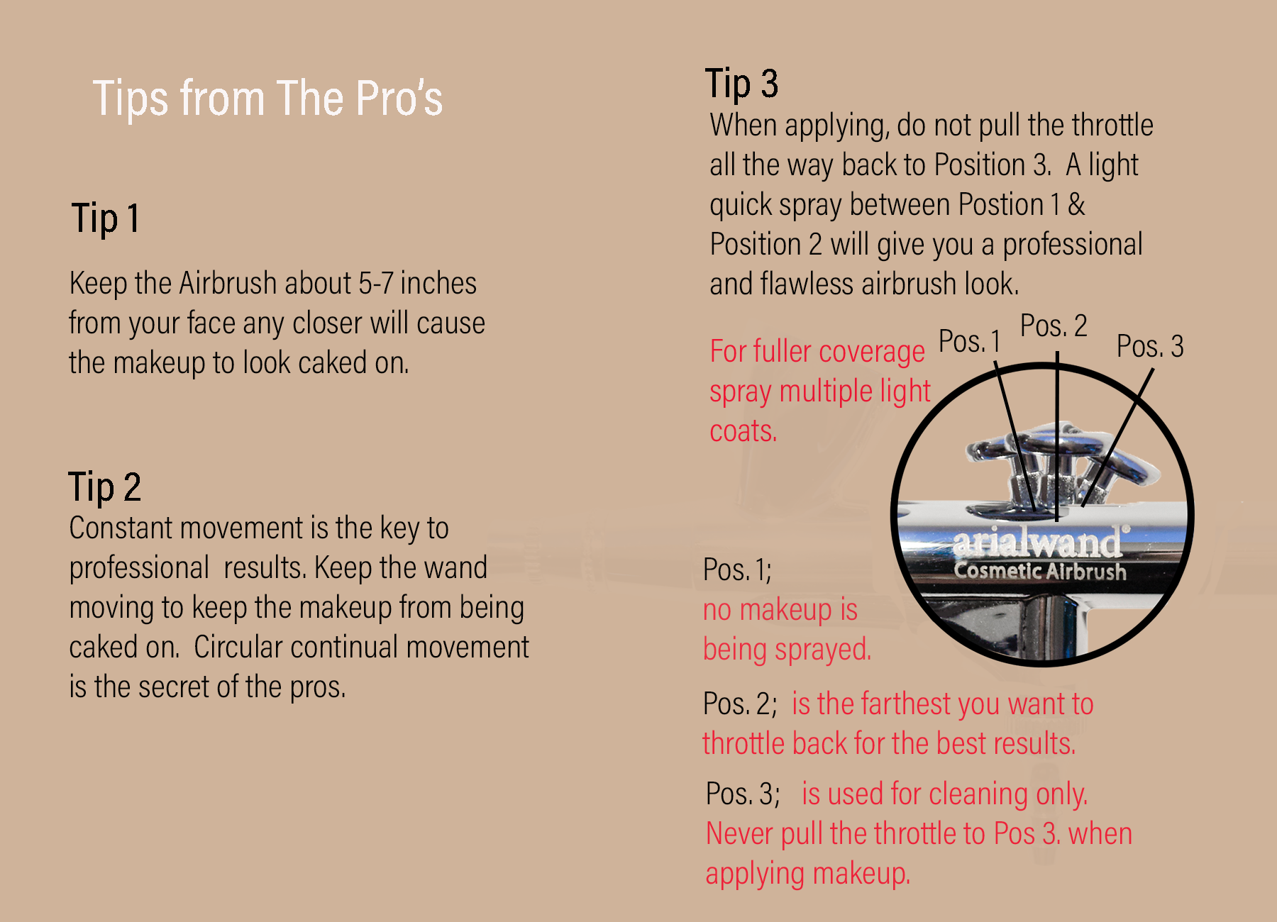 Airbrush Makeup Tips From The Pro's