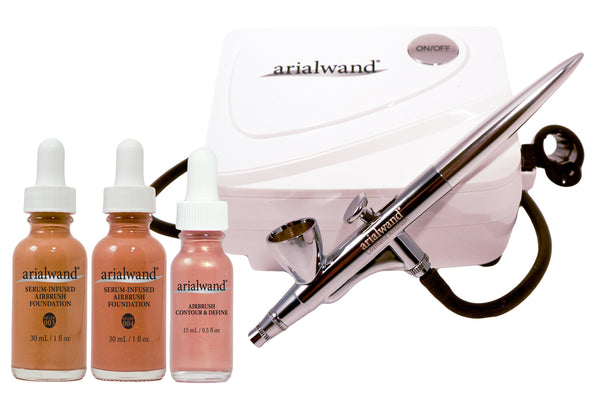 Arialwand Airbrush Makeup Essential Kit