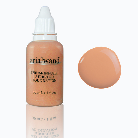 Arialwand Airbrush Makeup Foundation with Hyaluronic Acid- Honey (Shade #6)