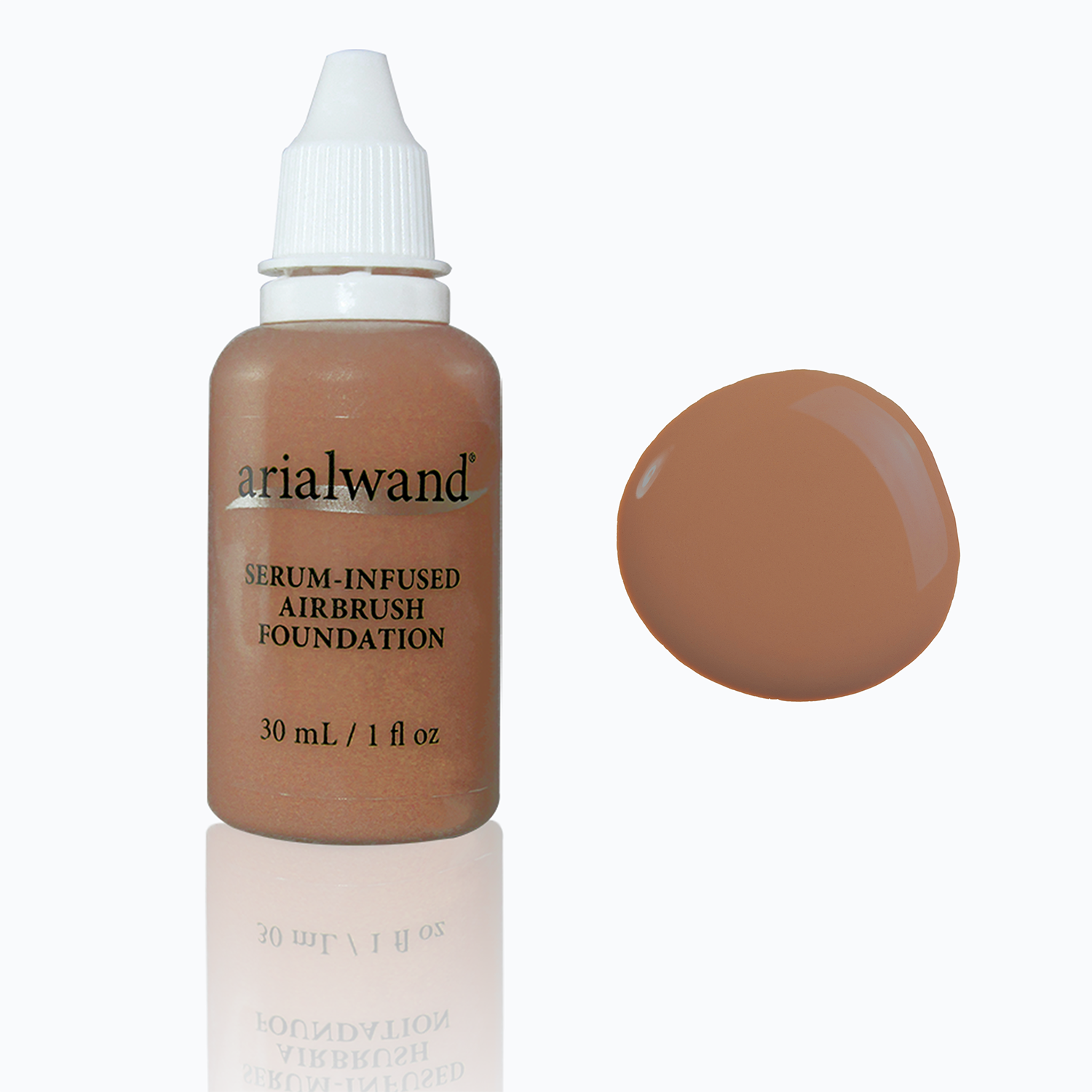 Arialwand Airbrush Foundation W/Hyaluronic Acid - Natural Bronze (Shade #008)