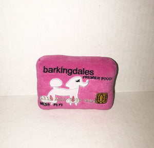 Barkingdale's Credit Card Plush Toy - Edie 1965