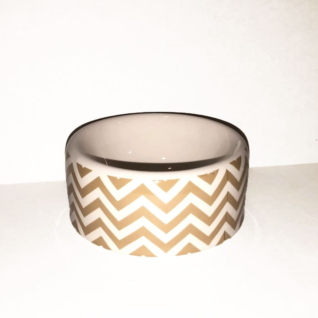 Chevron Small Bowl - Edie 1965