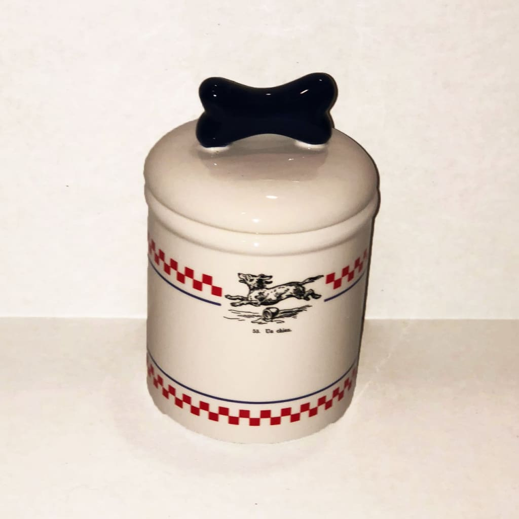 French Bistro Treat Jar - Edie 1965
