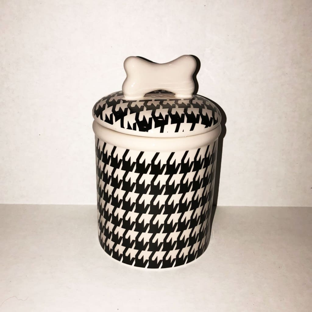 Houndstooth Treat Jar - Edie 1965