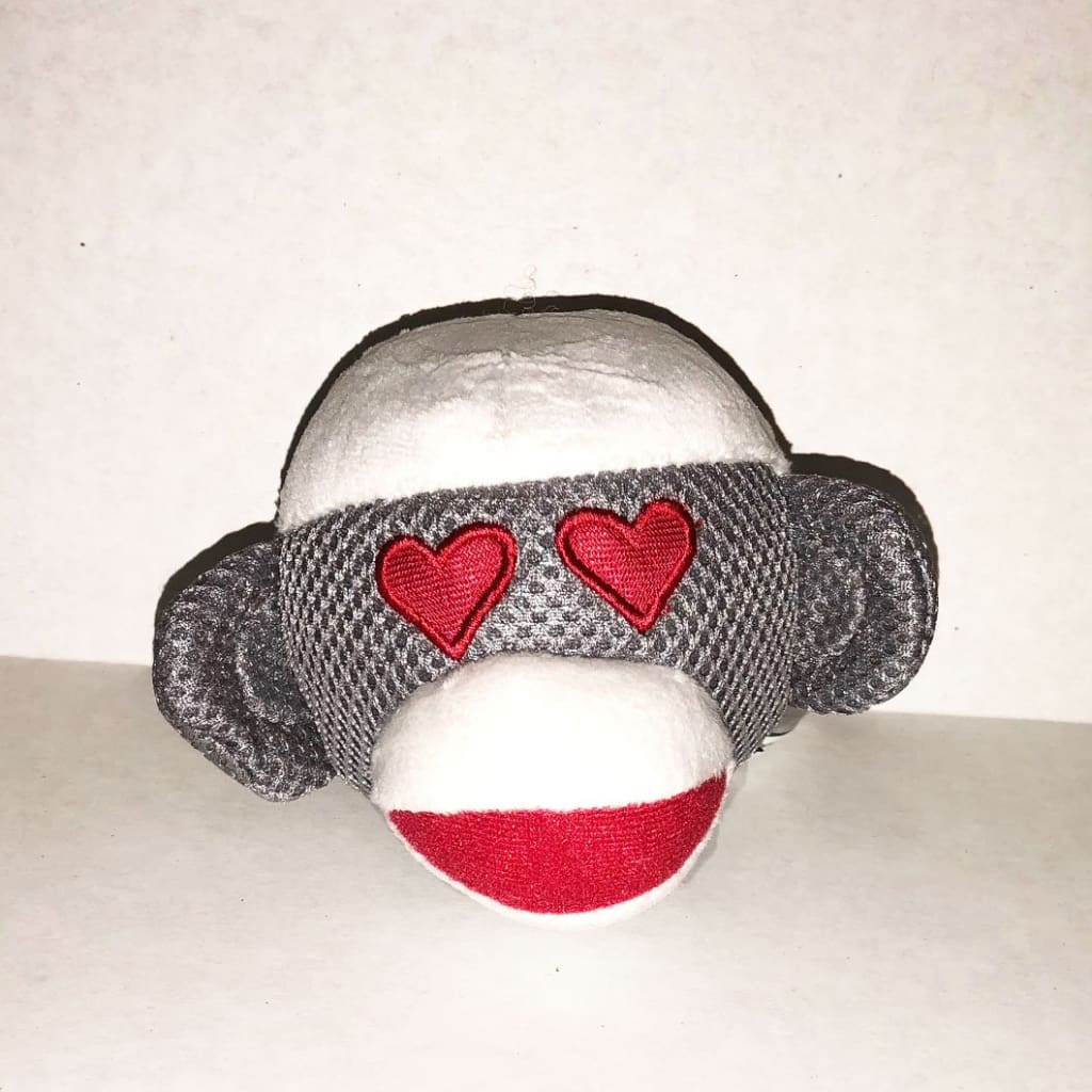 Monkey Emoji Toy- Heart eyes monkey - Edie 1965
