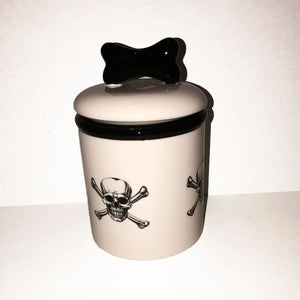 Skull Treat Jar - Edie 1965