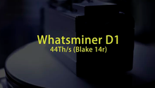Whatsminer D1 44TH/s with PSU
