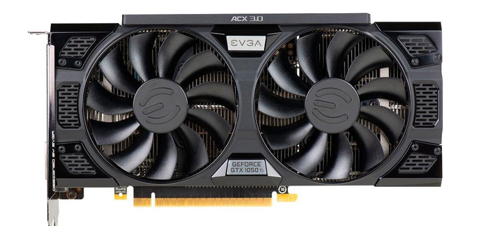 EVGA - NVIDIA GeForce GTX 1050 Ti 4GB GDDR5 Graphics Card