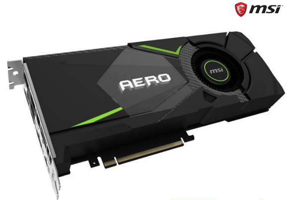 MSI GeForce RTX 2080 AERO 8GB GDDR6 Video Card
