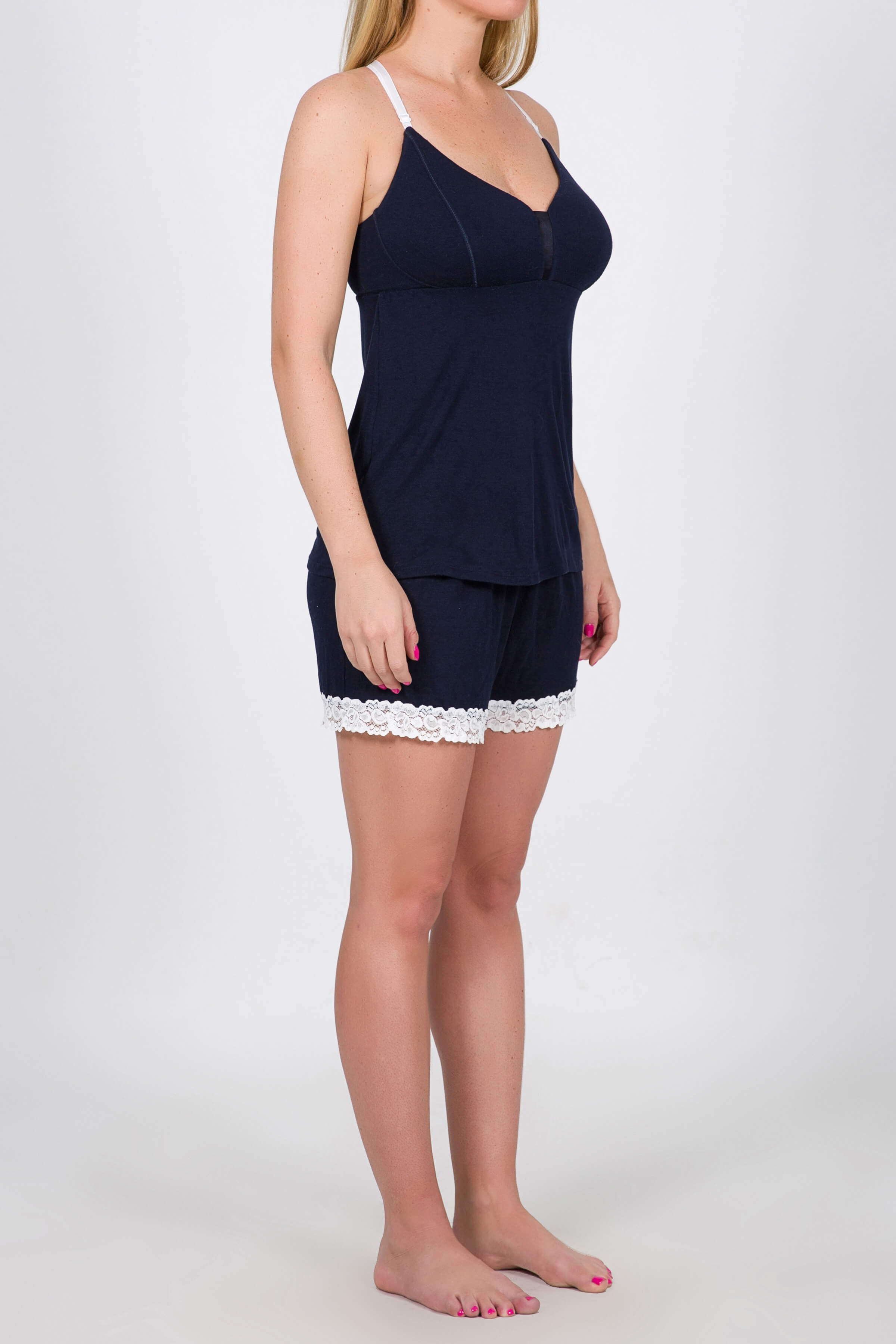 Cami and Boy Shorts set: Low in Stock