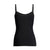 black cami tank with shaping support