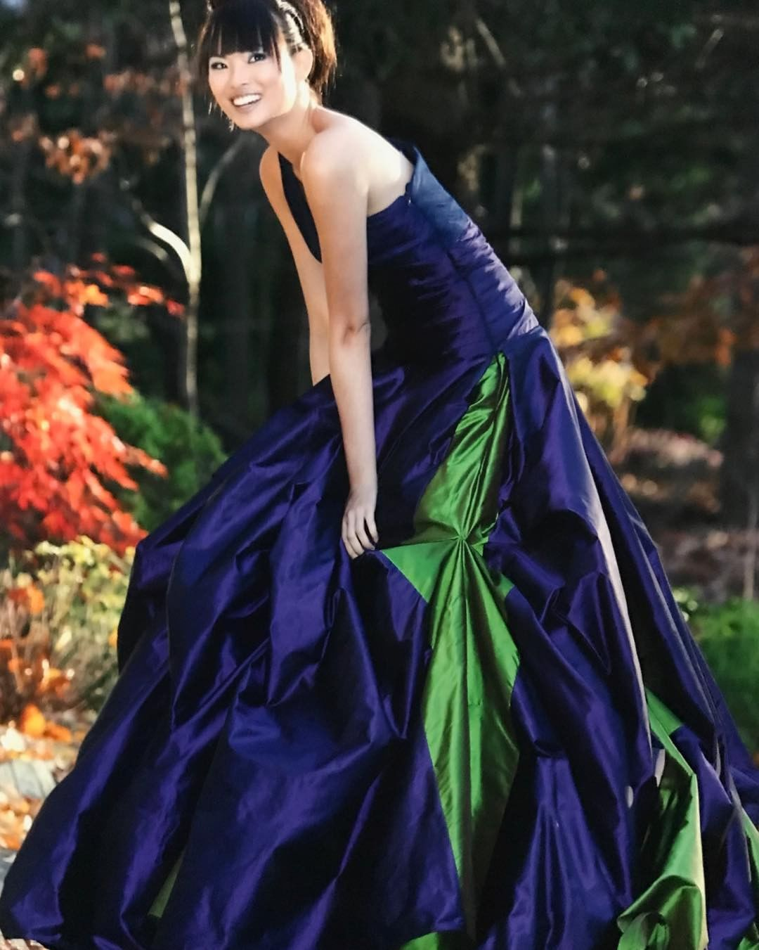 Royal Purple Ball Gown