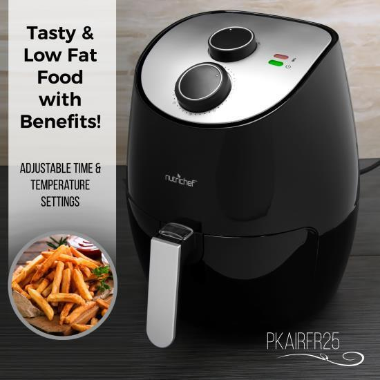 Air-Fryer / Infrared Convection Oven Cooker, Healthy Kitchen Countertop Cooking
