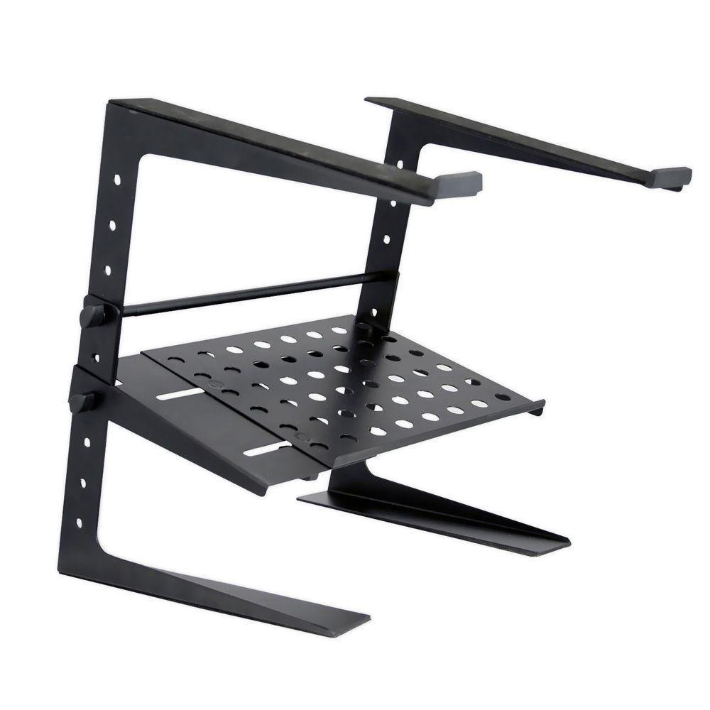 Pyle Portable Adjustable Laptop Stand - 6.3 to 10.9 Inch Standing Table Monitor or Computer Desk...
