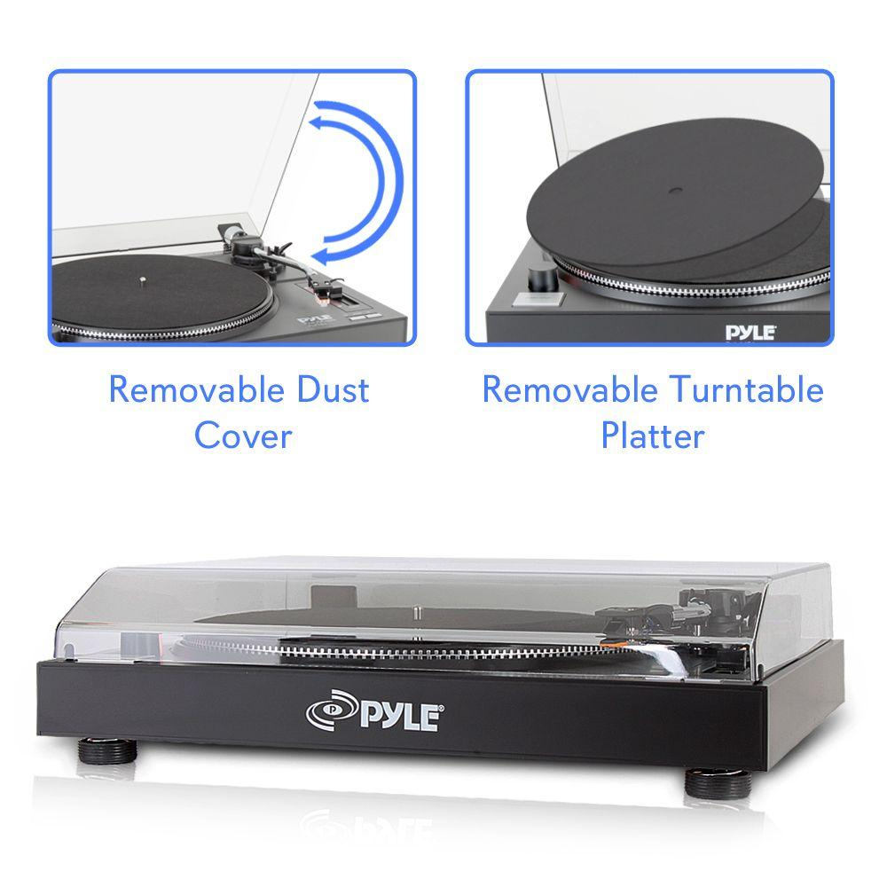 PylePro Belt Drive USB Turntable with Digital Recording Software (PLTTB3U)
