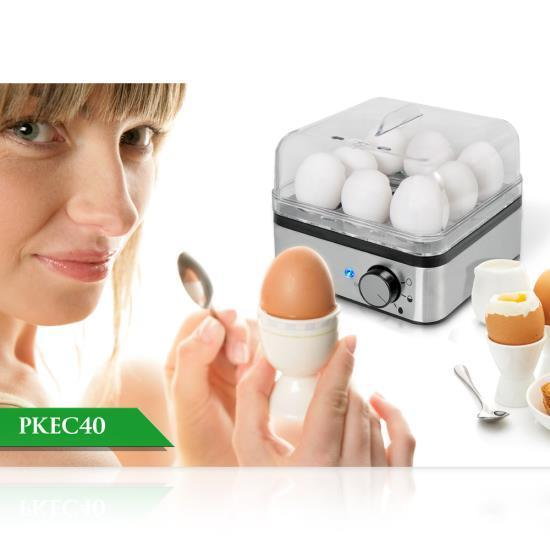 NutriChef Electric Food Steamer, Egg Cooker (PKEC40)