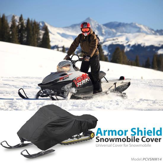 Armor Shield Snowmobile Cover - Universal Cover for Snowmobile (126��� 138�� -inches)