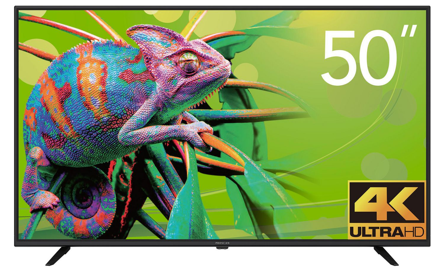 "Proscan 50"" 4K UHD Smart TV, ( PLED5038-UHDSM)"
