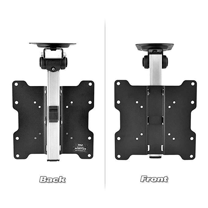 Pyle 17-Inch to 37-Inch Universal Folding Hide-Away TV Ceiling Mount Bracket Fits (PCMTV25)