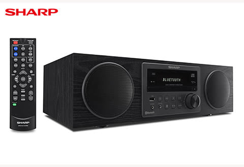 Sharp Bluetooth Micro Component Speaker, CD Player (CD-BH20)