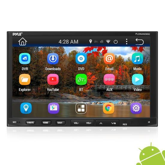 Pyle Android Tablet, 7'' Touchscreen Display, Wi-Fi Web Browsing HD 1080p Support, Device Mirroring Ability (PLDNAND692)