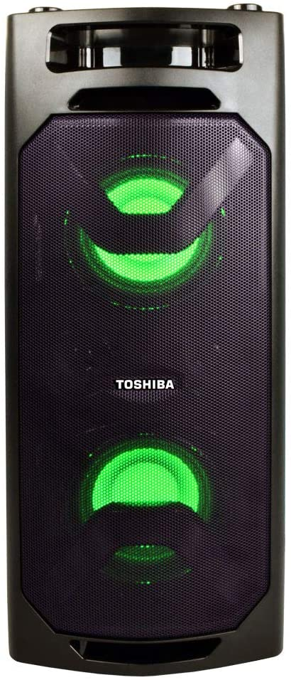 Toshiba Bluetooth Wireless Speaker, Rechargeable Batteries, Stereo Radio (TY-ASC50)